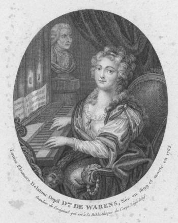 Louise Eléonore Delatour Depil, Dame de Warens, née en 1699 et morte en 1762