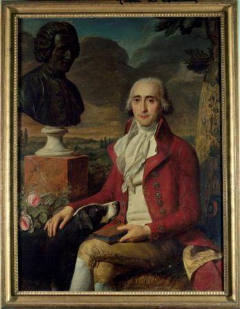 Portrait du marquis de Girardin