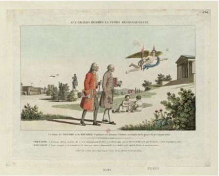 [...] Le Génie de Voltaire et de Rousseau [...]