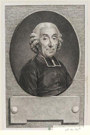 Abbé Gabriel Bonnot de Mably, philosophe et historien (1709-1785)