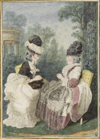 Madame Froment et Madame Rousseau