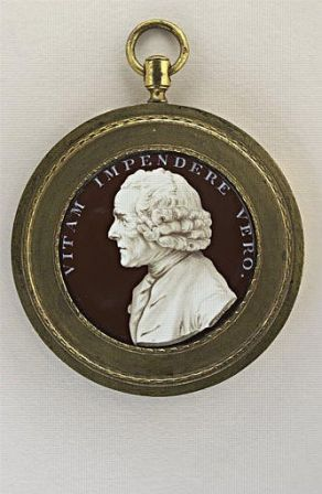 Portrait de Jean-Jacques Rousseau, en buste