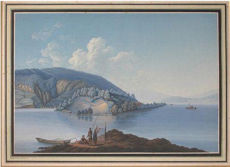 Vue du lac de Bienne