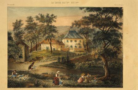 Les Charmettes au 19e siècle