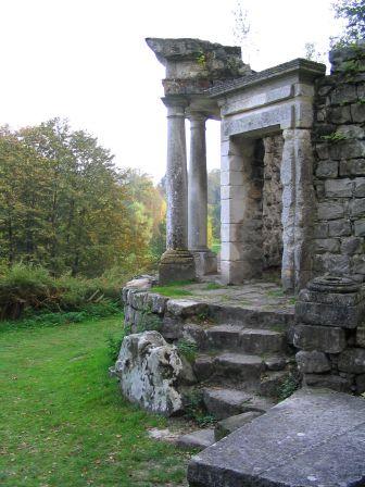Ermenonville, temple de la Philosophie - Parc Jean-Jacques Rousseau
