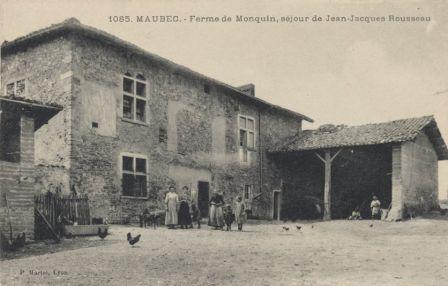 Maubec, ferme de Monquin