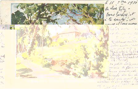 La Maison de J. J. Rousseau aux Charmettes (près Chambéry)