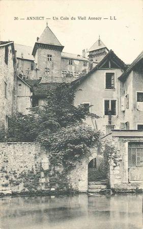 Annecy. Un coin du vieil Annecy