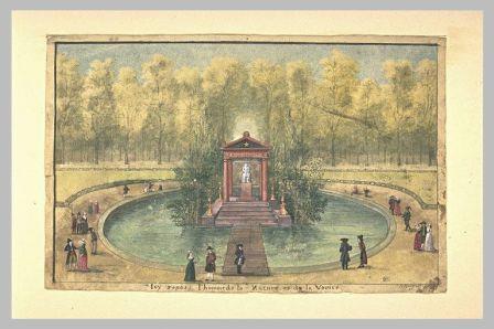 Tombeau de Jean-Jacques Rousseau aux Tuileries