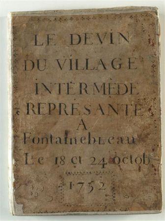 Le Devin du village, intermède de Jean-Jacques Rousseau