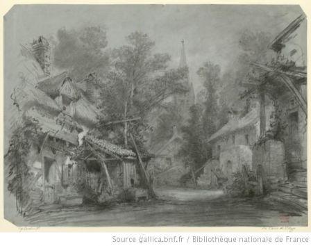 Le Devin du village - décor