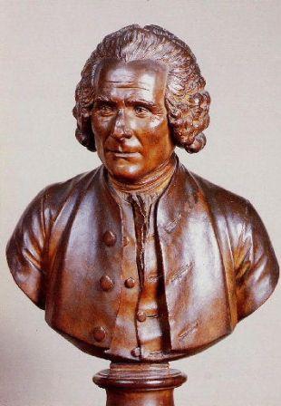 Buste de Jean-Jacques Rousseau