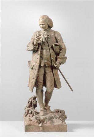 Statuette de Jean-Jacques Rousseau